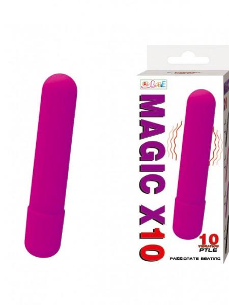 Вибромассажер пуля Magic X10 Фиолетовая