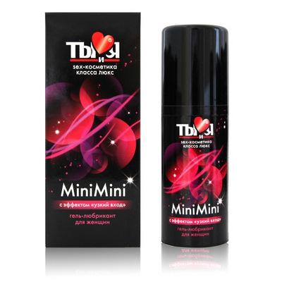 MiniMini гель-любрикант для женщин, флакон-диспенсер 50г