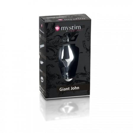 Giant John butt plug XXL Электростимулятор анальная пробка