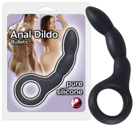 Анальный фаллоимитатор Anal Dildo Bullets