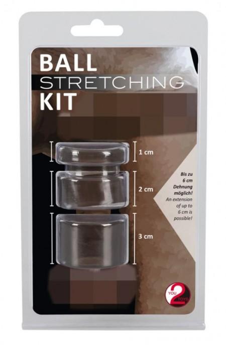 Набор для фиксации и утяжки мошонки Ball Stretching Kit