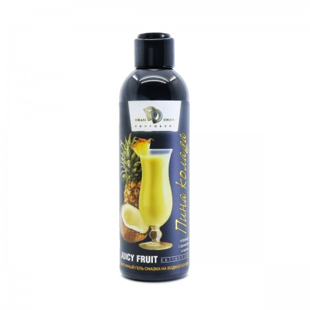 JUICY FRUIT Интимный гель 200 мл с ароматом Пина-Колада