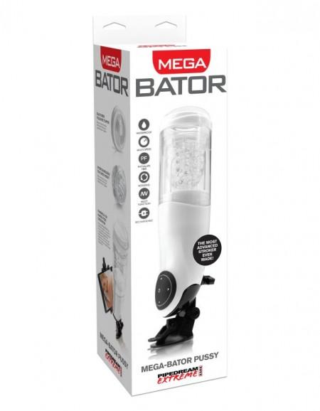 Автоматический Мега-Мастурбатор-вагина с подсветкой Pipedream Extreme Toyz  Mega-Bator Pussy