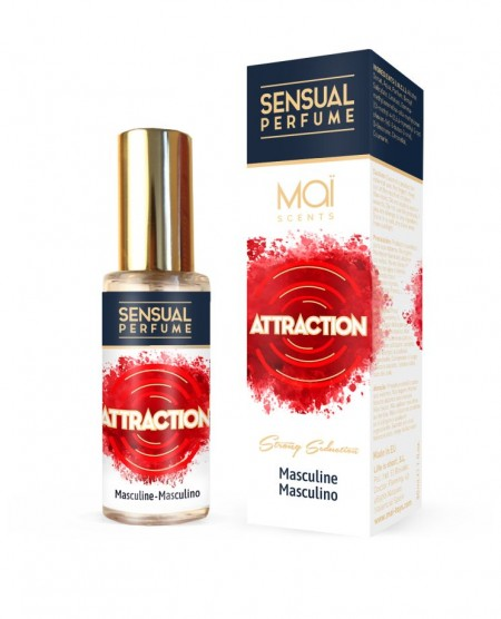 Мужской парфюм с феромонами MASCULINE PERFUME WITH SENSUAL ATTRACTION (MAI PHERO ATTRACTION)  30 ML
