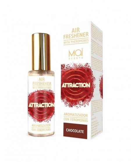 ОСВЕЖИТЕЛЬ ВОЗДУХА с феромонами (шоколад) 30 мл AIR FRESHENER WITH PHEROMONES (MAI ATTRACTION) CHOCOLATE 30 ML