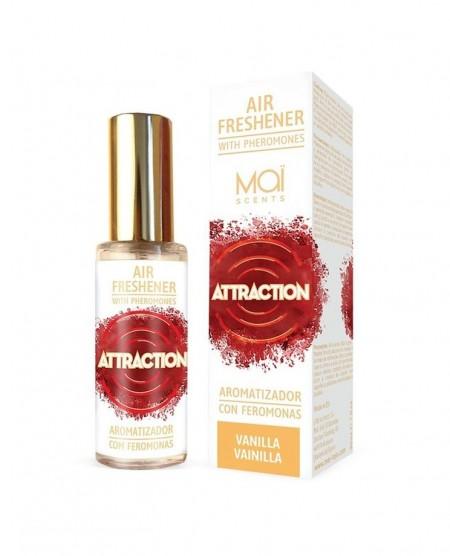 MAI ATTRACTION ОСВЕЖИТЕЛЬ ВОЗДУХА с феромонами (ваниль) 30 мл AIR FRESHENER WITH PHEROMONES (MAI ATTRACTION) VANILLA 30 ML