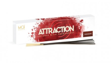 MAI ATTRACTION АРОМАТИЧЕСКИЕ ПАЛОЧКИ С ФЕРОМОНАМИ (шоколад) BOX 20 UNITS