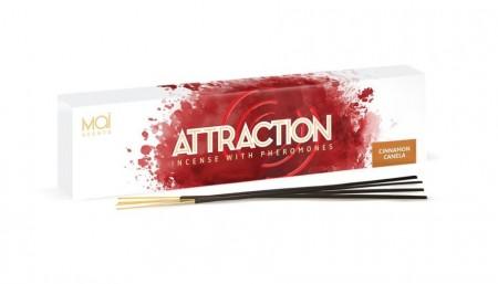 MAI ATTRACTION АРОМАТИЧЕСКИЕ ПАЛОЧКИ С ФЕРОМОНАМИ (корица) BOX 20 UNITS