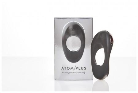 ATOM PLUS Мощное гибкое эрекционное виброкольцо с двумя виброэлементами