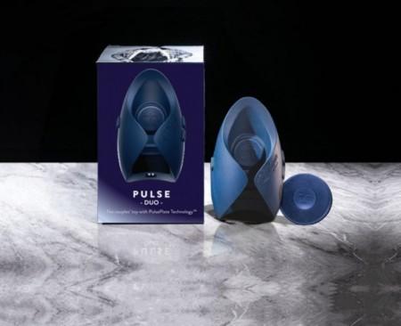 PULSE DUO Инновационный мужской вибратор (осциллятор)-игрушка для пар для оргазма без рук